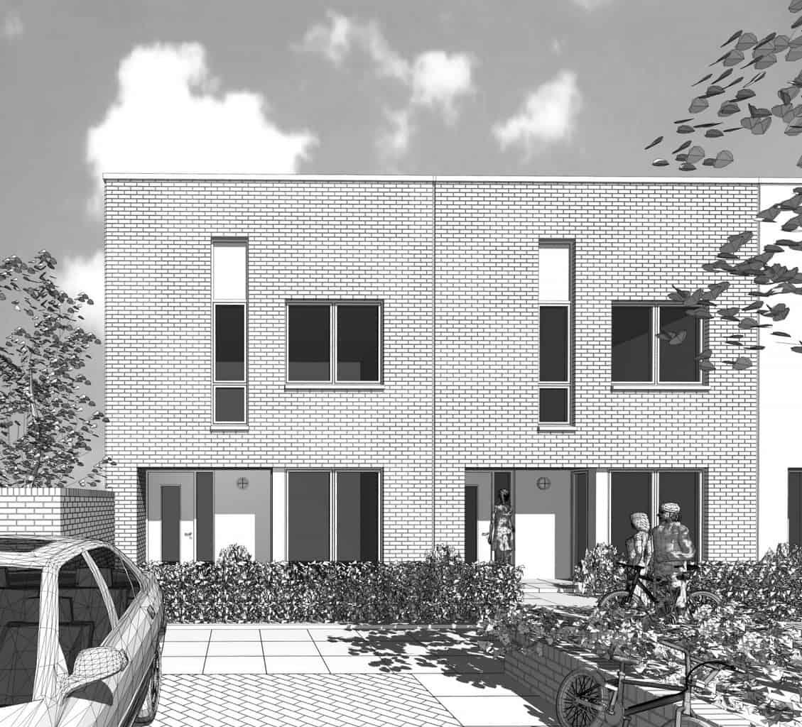0939 3d monochrome 5p house persp 2